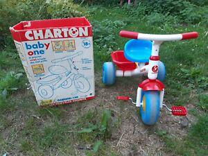 Tricycle charton made in france jura. plastique, pédales,