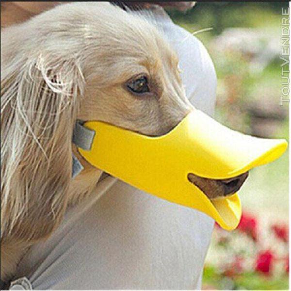 1pc mignon chien 3d museau canard visage lèvre