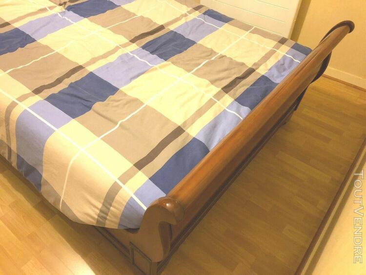 Chambre a coucher style louis philippe avec lit pont,