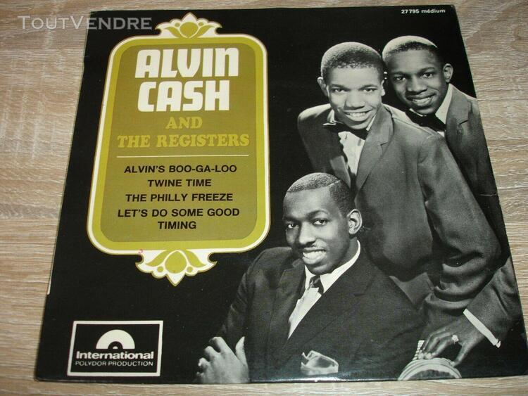 "Ep alvin cash "" twine time / alvin's boo-ga-loo "" languette"