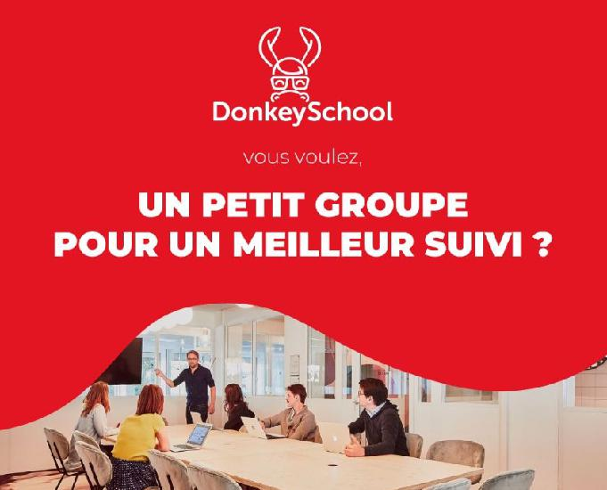 formation développeur web et web mobile - donkeyschool