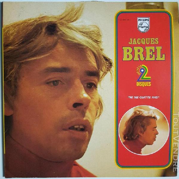 Jacques brel – ne me quitte pas (1980) lp vynil 33