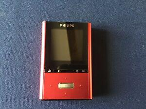 Philips gogear vibe 8gb rouge