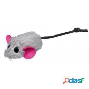 Trixie souris en peluche avec catnip core pour chat (6) par paquet