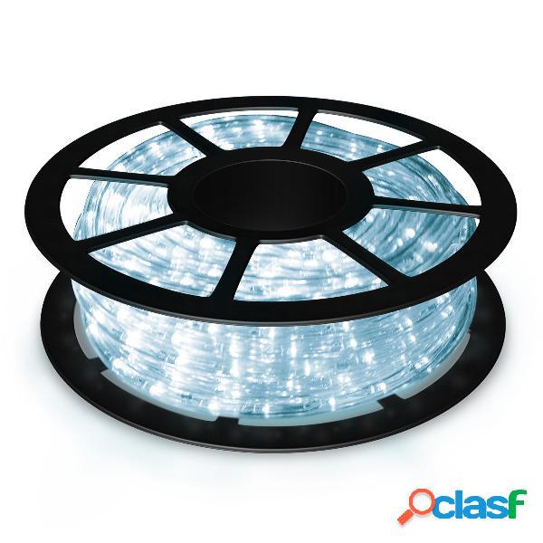 Costway ruban à led 30m lumineux flexible 360 leds puissance 55w tension 220v