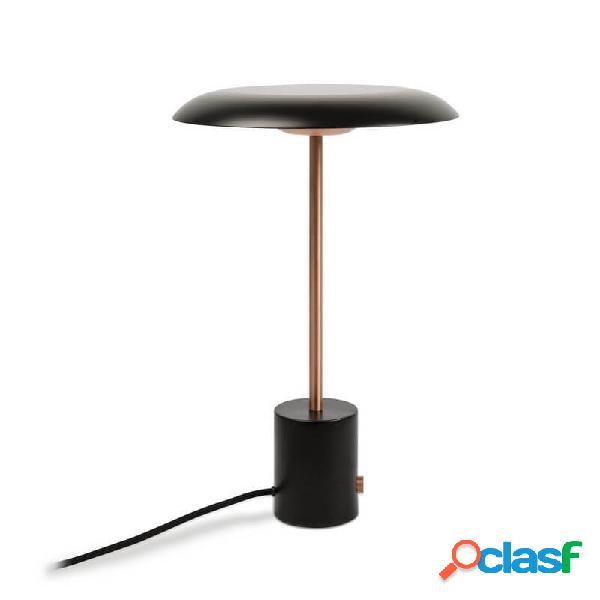 """""""lampe de table design hoshi led h40 cm - noir"""""""