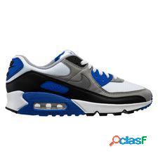 Nike air max 90 - blanc/gris/bleu/noir