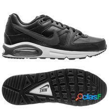 Nike air max command cuir - noir/blanc