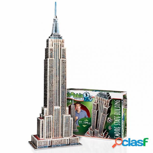 Puzzle 3d - new-york: empire state building wrebbit 3d
