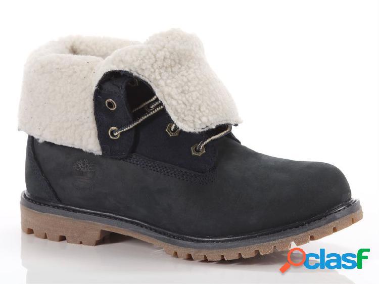 Timberland authentics teddy fleece fold-down boot, 36, 37, 37½, 38, 38½ femme, blubleu