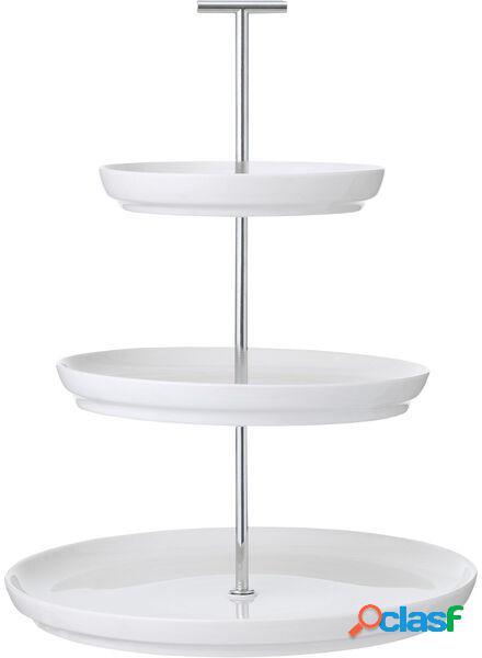 Hema présentoir 3 niveaux - 33 cm de haut - dublin blanc