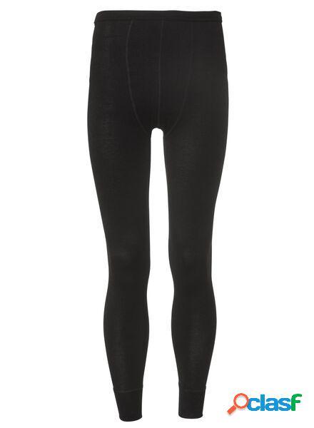 Hema pantalon thermique homme noir (noir)
