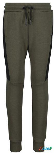 Hema pantalon sweat enfant vert foncé (vert foncé)