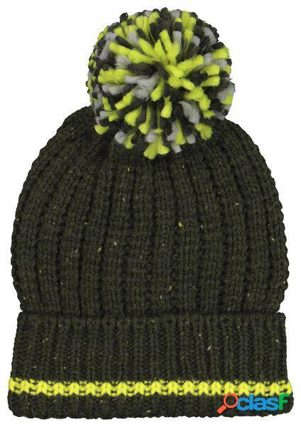 Hema bonnet enfant tricot vert (vert)