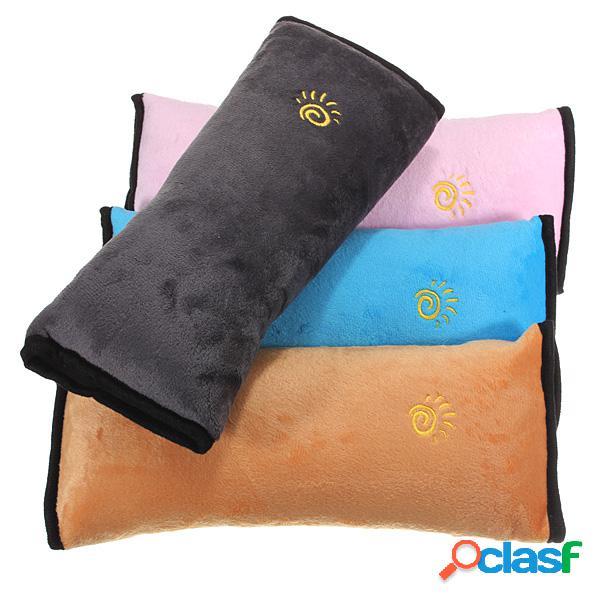 Voiture enfant sécurité ceinture de sécurité épaule oreiller enfants protéger cou pad bureau à domicile yoga coussins
