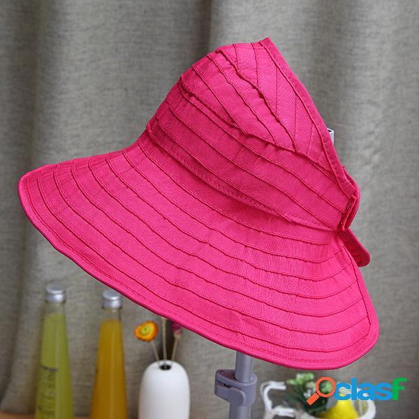 Chapeaux de soleil vides d'été de bébés filles d'été de chapeaux supérieurs de soleil de paille de pli de large bord pliable
