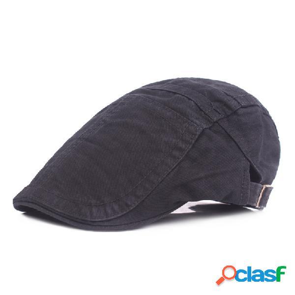 Chapeaux réglables de béret de coton des hommes chapeaux respirants extérieurs de chapeau d'ombre de parasol