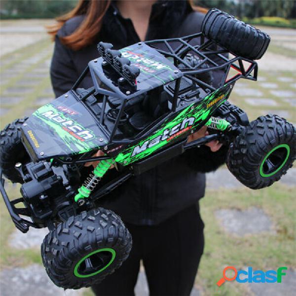 37cm jouets de véhicule tout-terrain de haute qualité 1:12 1:16 4wd voitures rc alliage vitesse 2.4g radio télécommande voitures jouets alliage suv camions à grande vitesse camions tout-terr