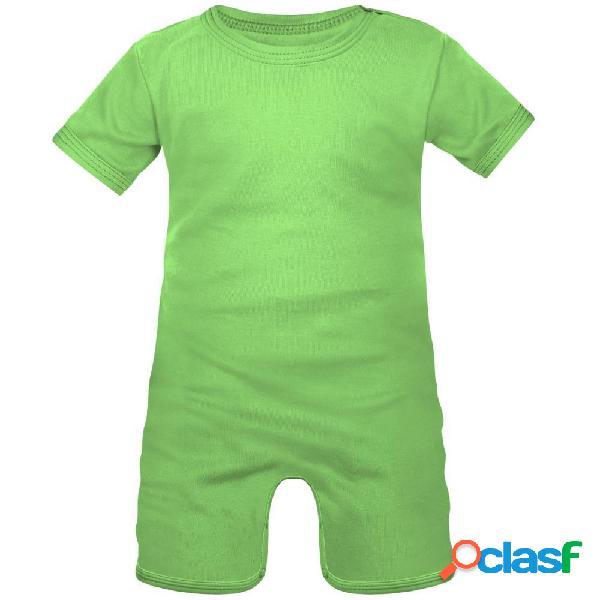 Barboteuse bébé à personnaliser - 0-1 mois vert