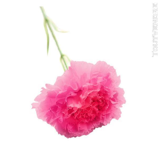 Artificielle faux fleurs oeillets bouquet de mariage floral