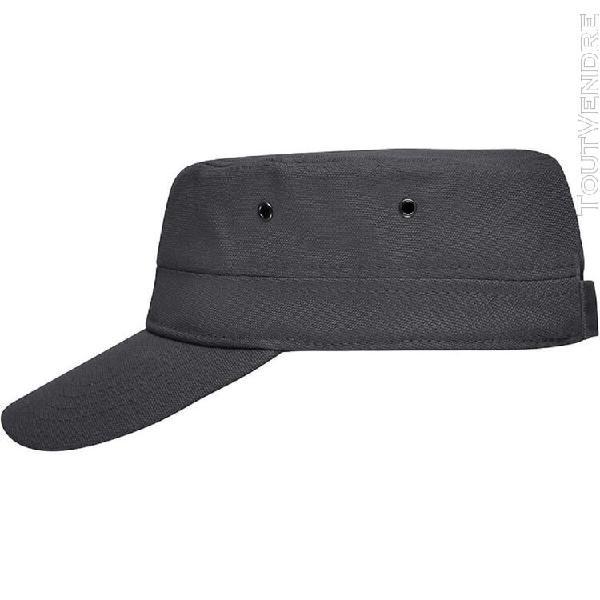 casquette militaire enfant - mb7018 - gris anthracite