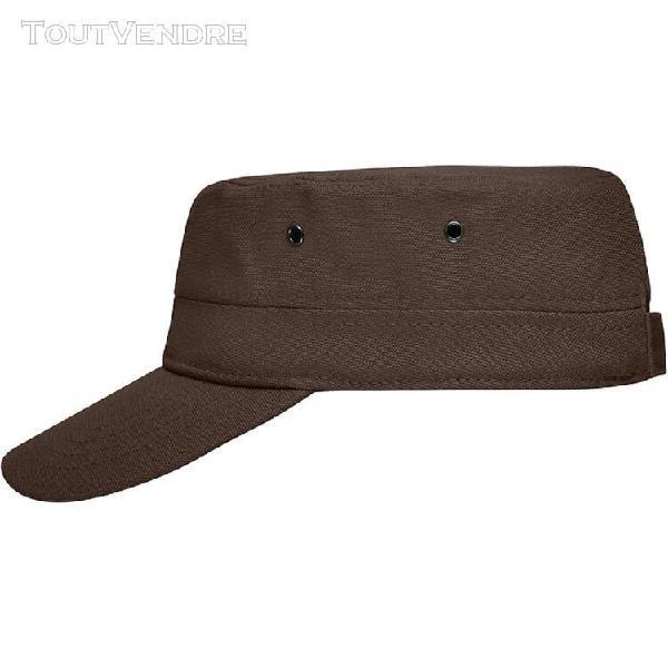 casquette militaire enfant - mb7018 - marron