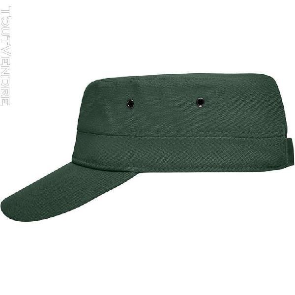 casquette militaire enfant - mb7018 - vert foncé