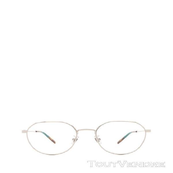 gucci femme gg0684o002 bleu claire métal lunettes