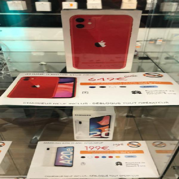 iphone 11 neuf neuf/revente, grasse (06130)