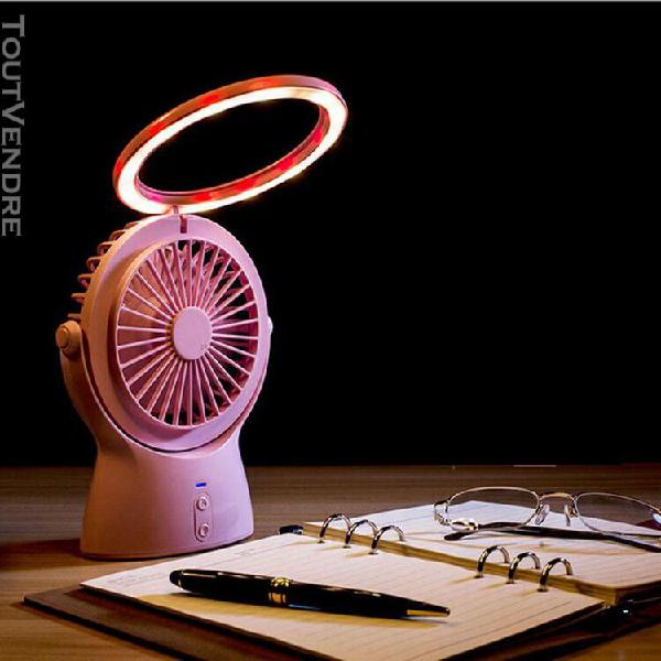 Lampe de bureau portable à led multifonctionnelle chargée