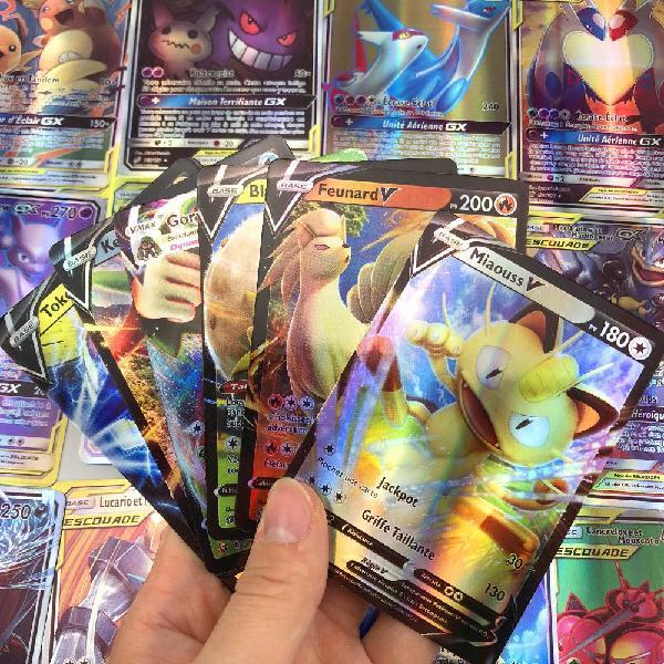 lot de 30 cartes pokemon v neuves en français