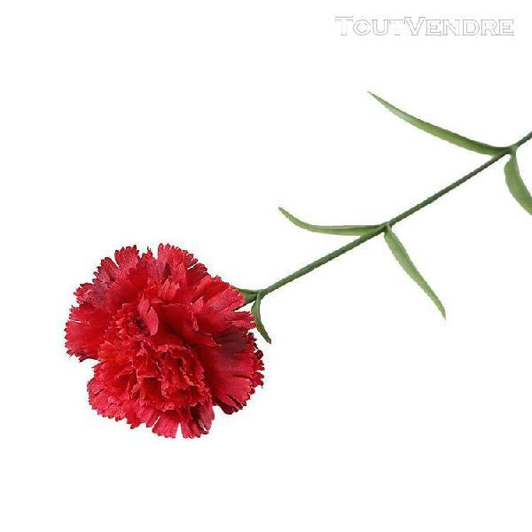 Oeillets artificiels fleur de soie hortensia de mariée