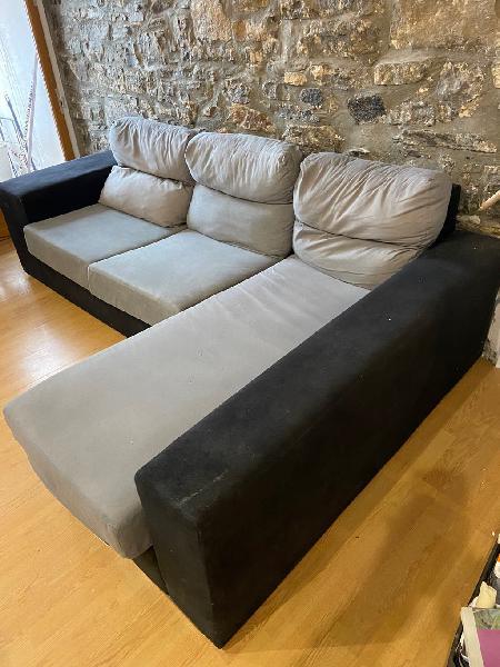 oportunidad sofa con chaiselonge