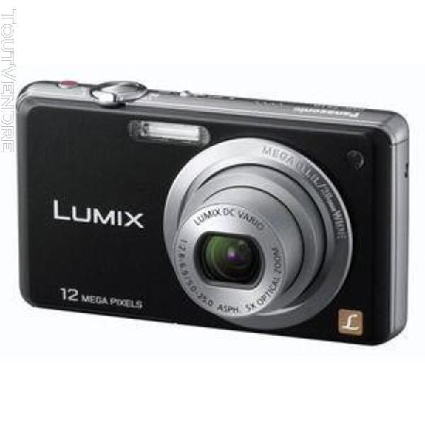 Panasonic lumix dmc-fs10 compact numérique noir 12 mpix