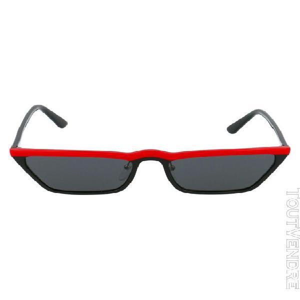 prada femme 0pr19usyvh5s058 noir acétate lunettes de soleil