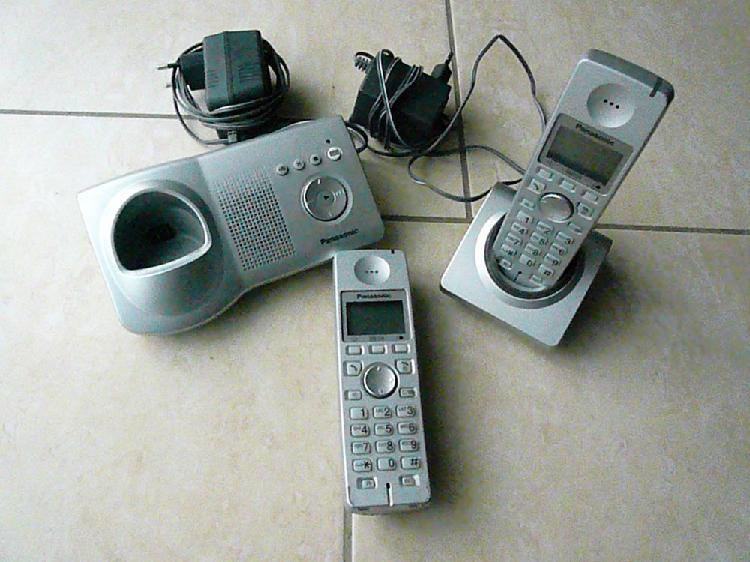 Téléphone panasonic kx-tga7120 duo occasion,