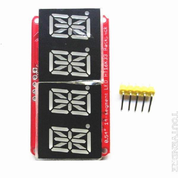 Tube numérique 4 segments module d'affichage d'horloge led