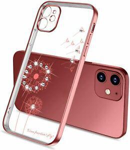 """Coque compatible pour iphone 12 mini 5,4"""", etui transparent"""