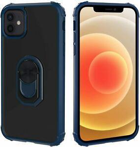 Migeec coque de protection pour iphone 12 pro et 12 max bleu