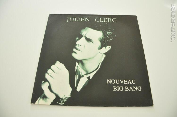 15. maxi 45t vinyle julien clerc nouveau big bang