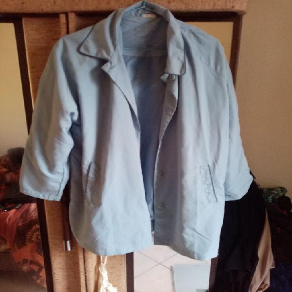 Beau manteau bleu ciel neuf, vernon (27200)