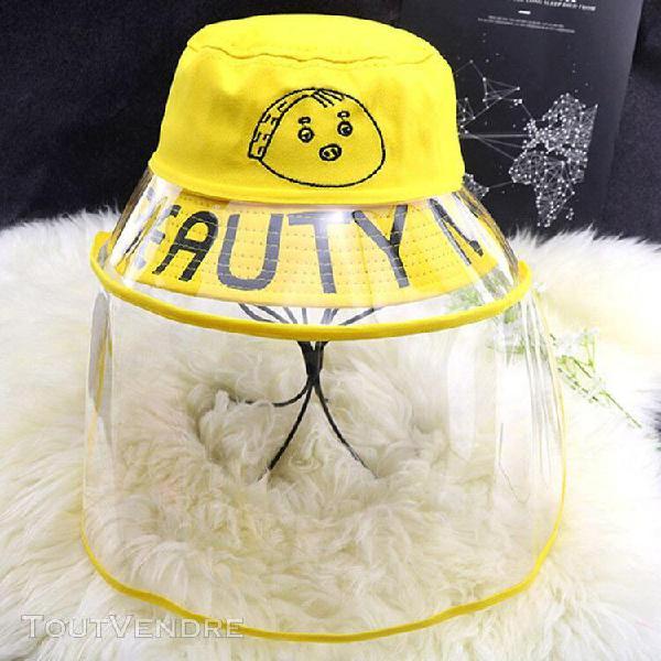 Chapeau de protection anti-crachats housse anti-poussière