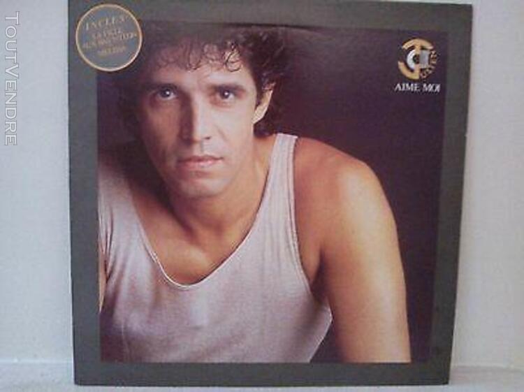 Julien clerc - aime moi (disque vinyle 33 tours)