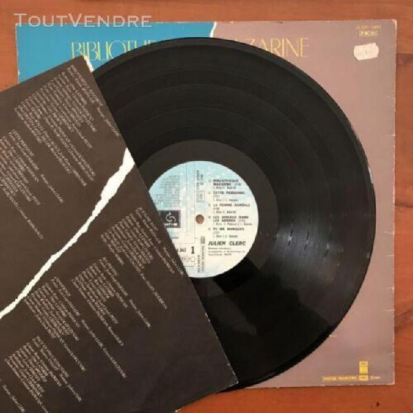 """Julien clerc """"clerc julien"""" - (b/tb)lp 33t 1980"""