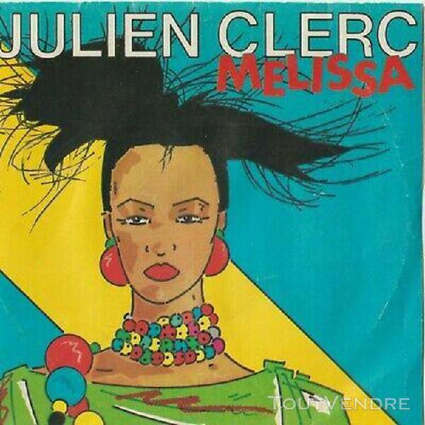 Julien clerc: melissa - tant d'amour - vinyle original en t