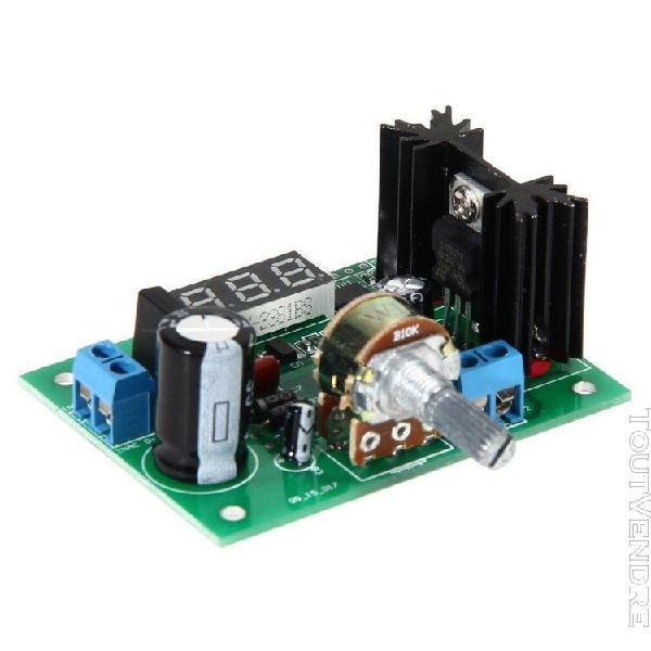 Lm317 ac / dc réglable régulateur de tension abaisseur