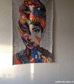 Audrey hepburn street art entièrement doublé