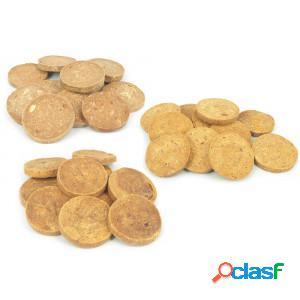 Brekz snacks - pure meat coins advantage pack 3 x 200 g