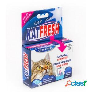 Katfresh filtre anti odeur litière par 2 unités