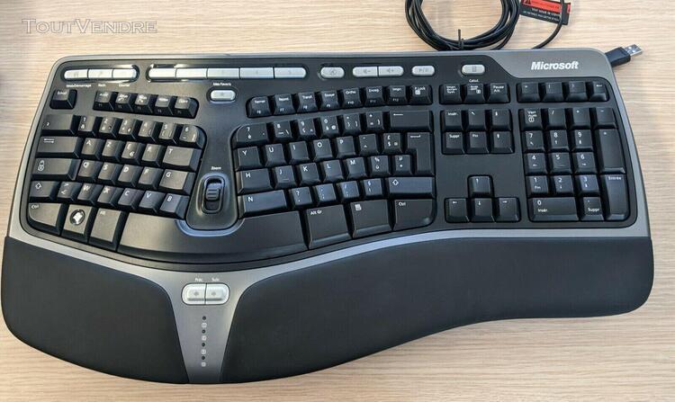 Clavier ergonomique microsoft natural ergonomic keyboard 400